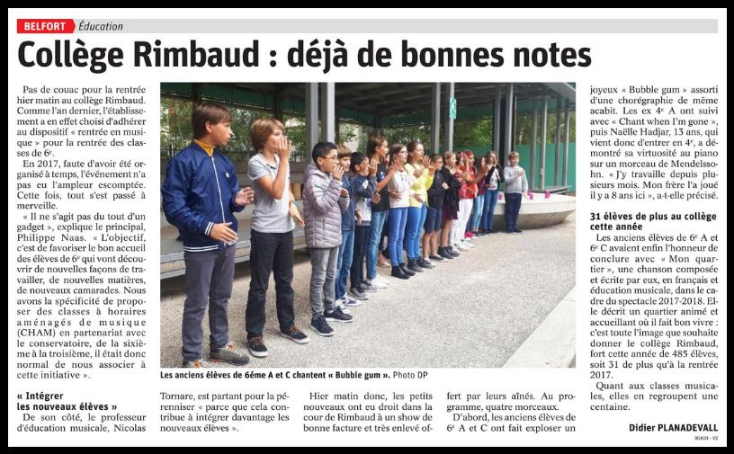Collège Rimbaud